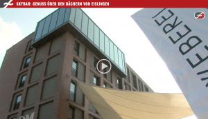 Bericht des Lokalfernsehens Filstalwelle zur Eröffnung und dem Opening der Skybar im Hotel Loom in Eislingen bei Göppingen